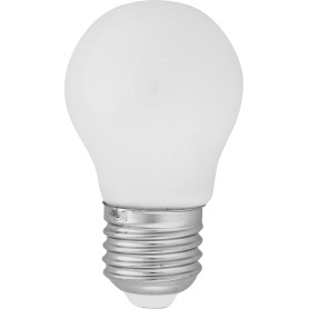 Лампа светодиодная Lexman E27 4,5 Вт 470 Лм 2700 K свет тёплый белый, матовая колба