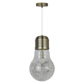 Светильник подвесной Bombilla, 1 лампа, цвет латунь