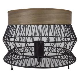 Настольная лампа «Manam», цвет чёрный