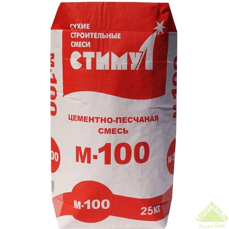 кладочная смесь м100