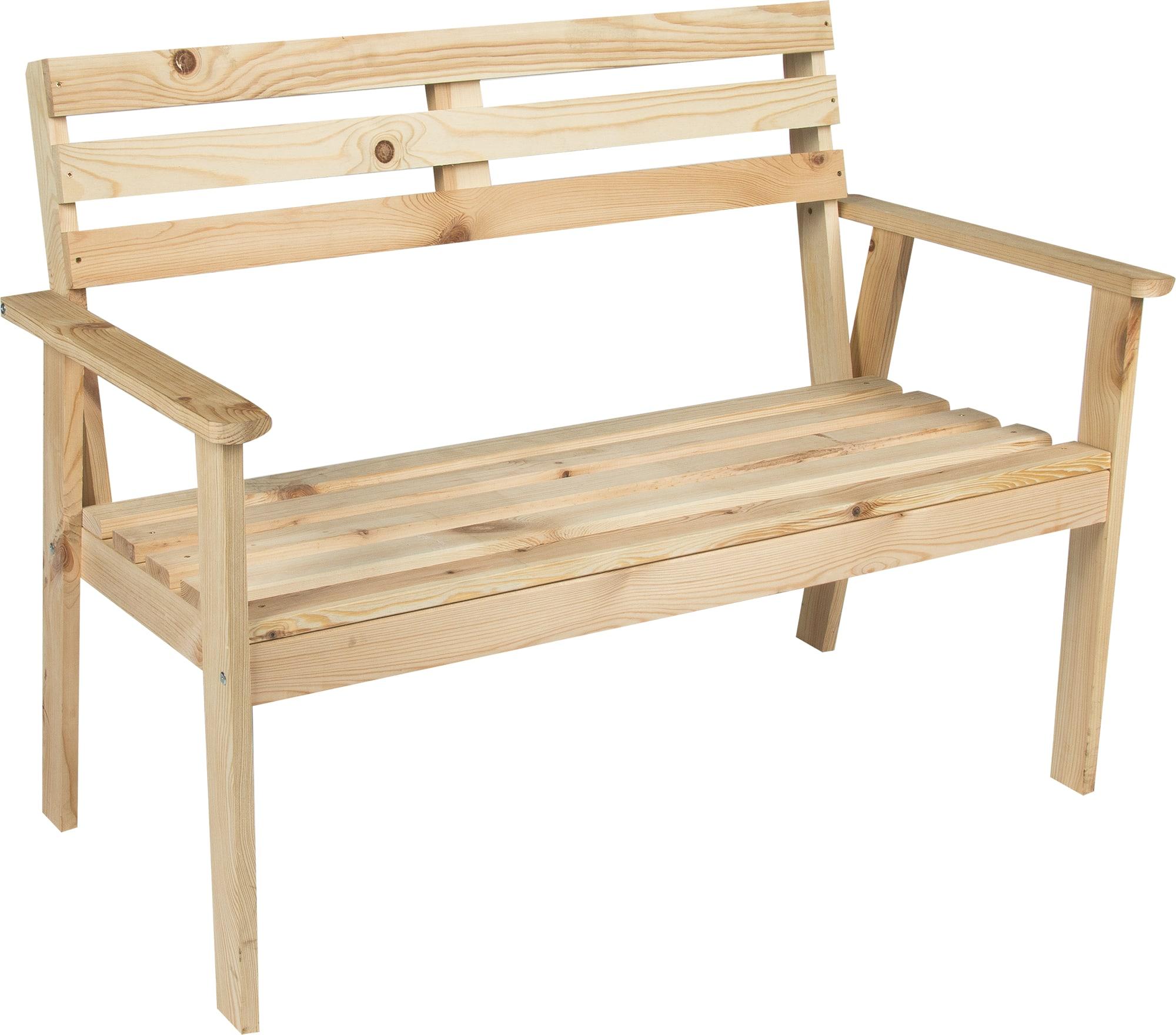 купить садовую скамейку в леруа мерлен