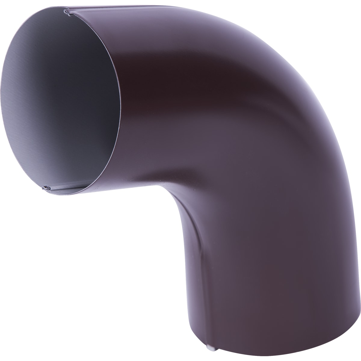 Отвод на 70° для трубы цвет коричневый