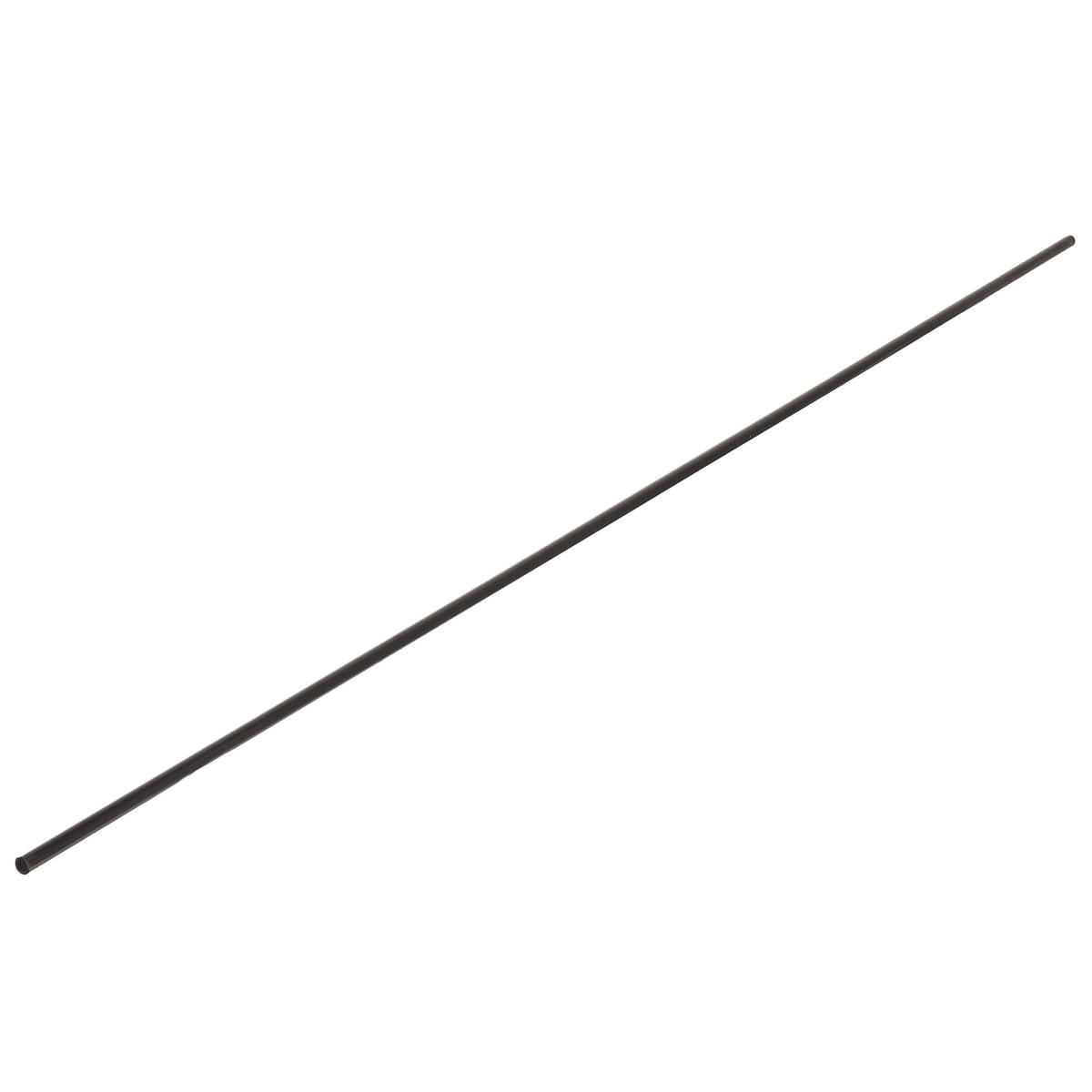 Труба Gah Alberts 7x1x1000 мм, ПВХ, цвет чёрная
