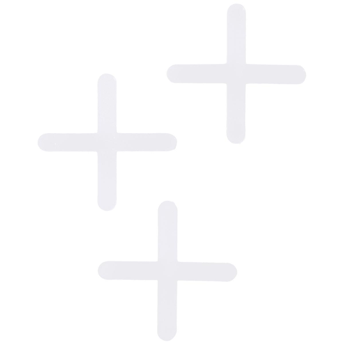 Крестики для кафельной плитки, 3 мм, 100 шт.