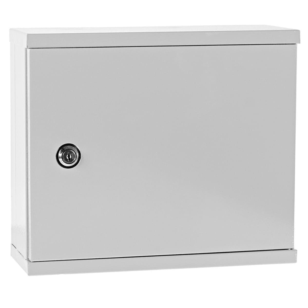 Ящик квартирный с DIN-рейкой Мэк 265x310x120 мм, металлический