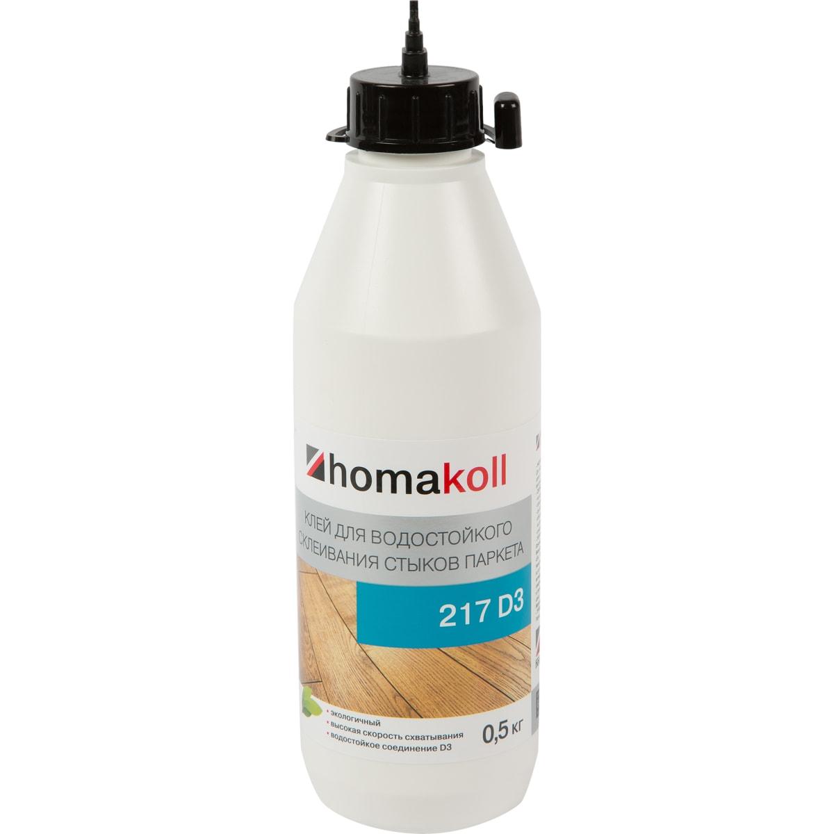 Клей  для стыков паркетной доски Хомакол (Homakoll) 0.5 кг