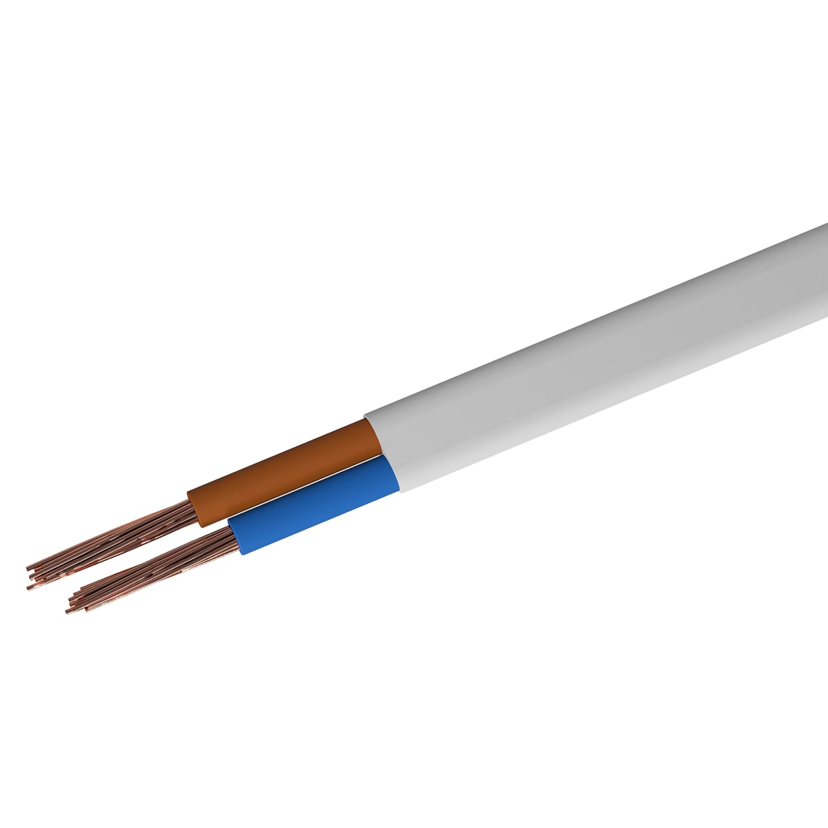 Провод Партнер-Электро ШВВП 2x0.75 на отрез (ГОСТ)