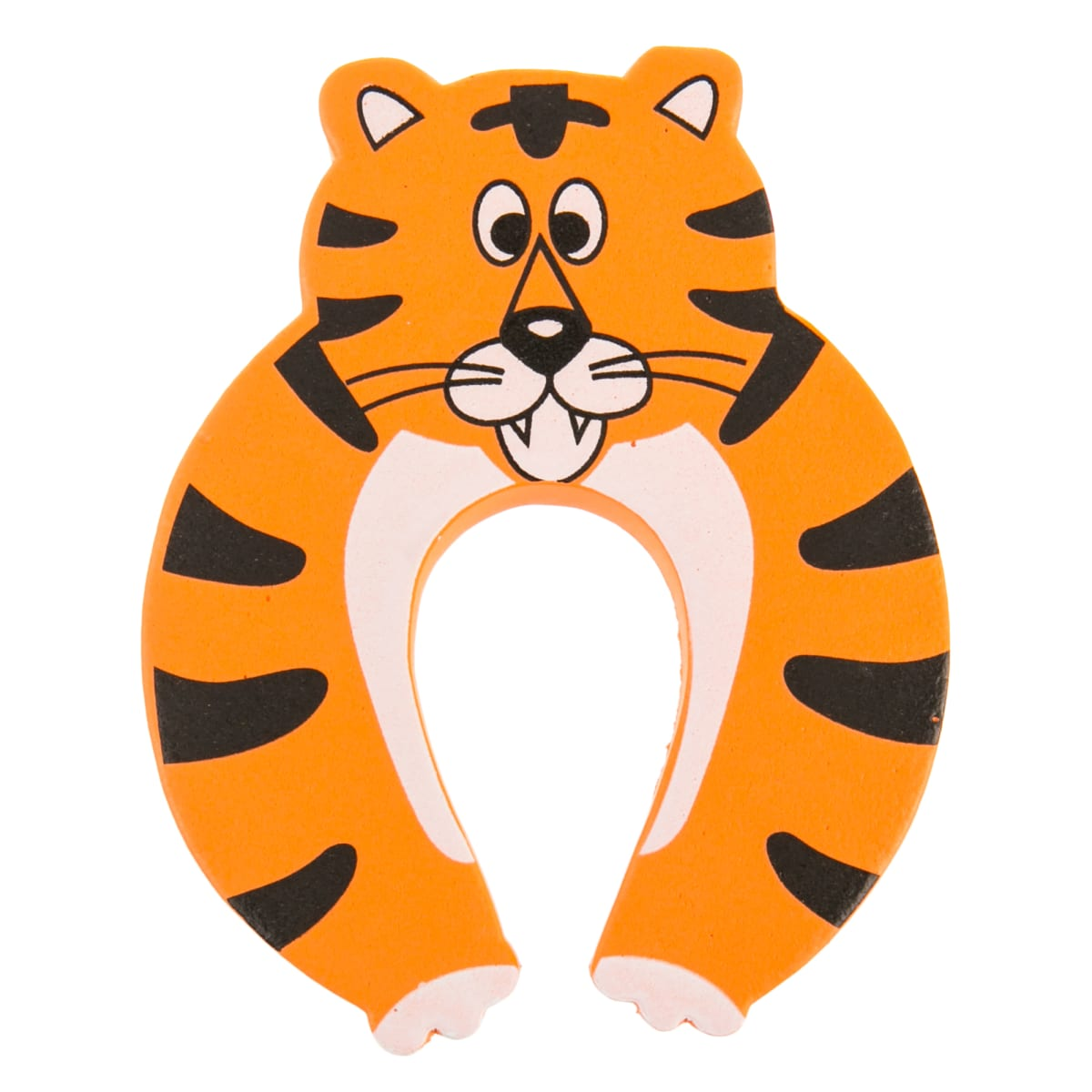 Блокиратор двери «Тигр» CD5075, резина, цвет оранжевый