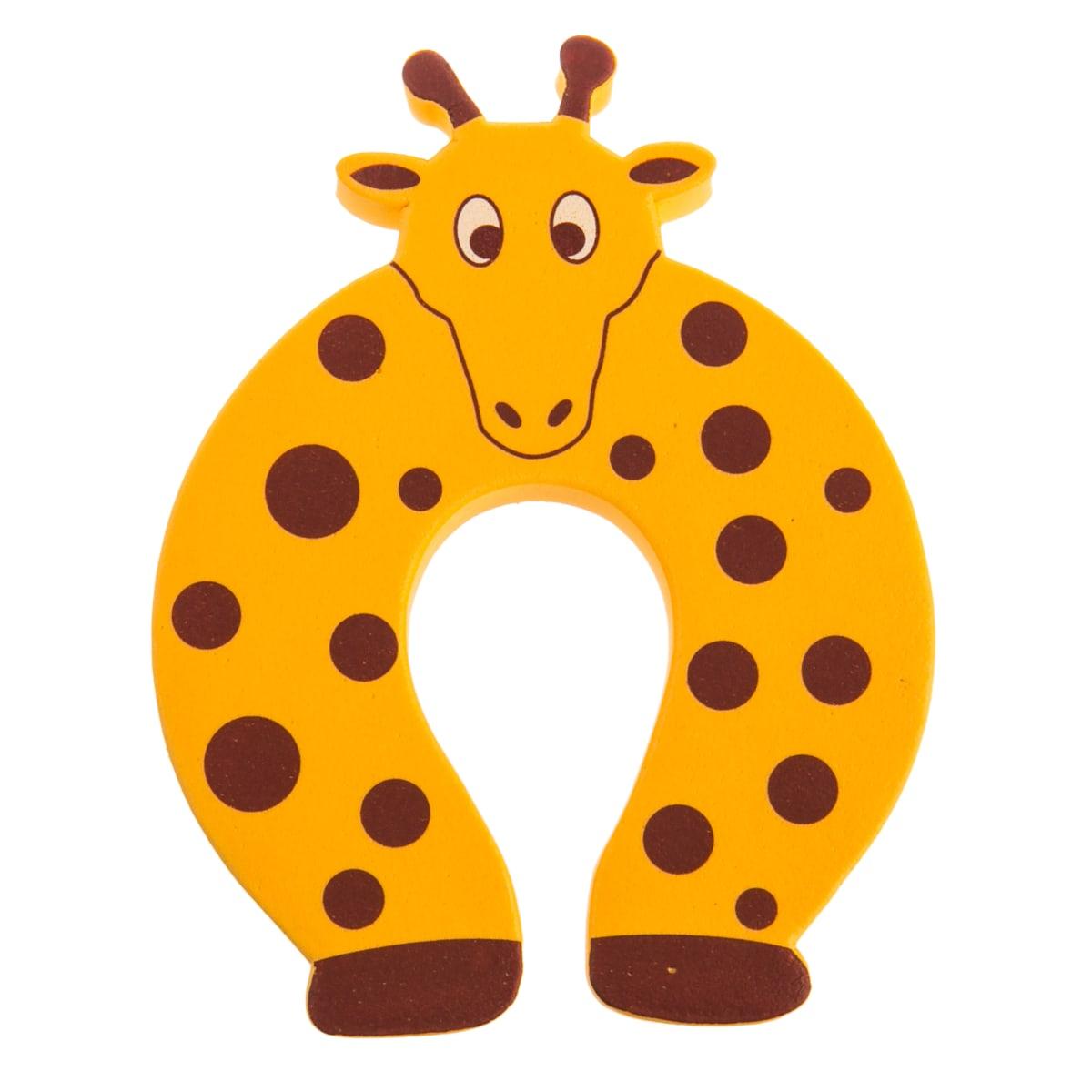 Блокиратор двери «Жираф» CD5078, резина, цвет оранжевый
