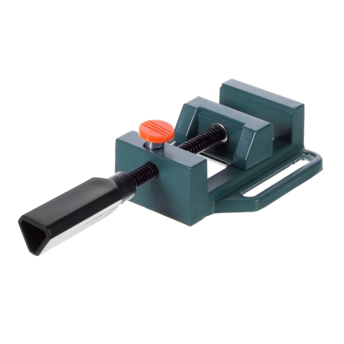 Тиски слесарные с ускоренным зажимом Калибр, 70x60 мм