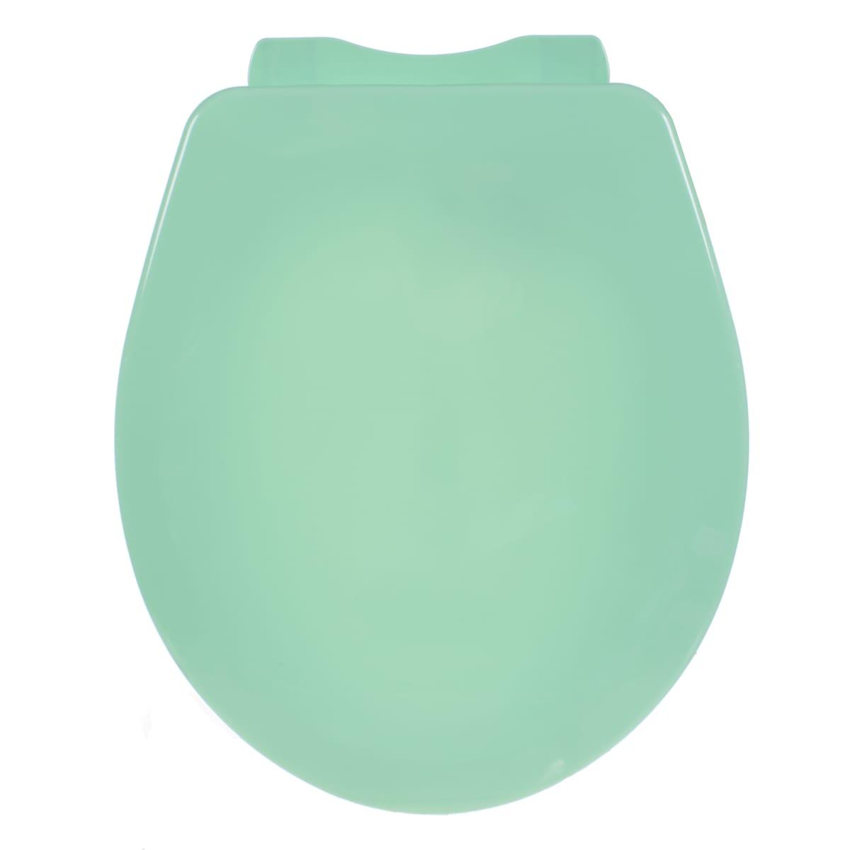 Сиденье для унитаза Орио круглое, цвет салатовый