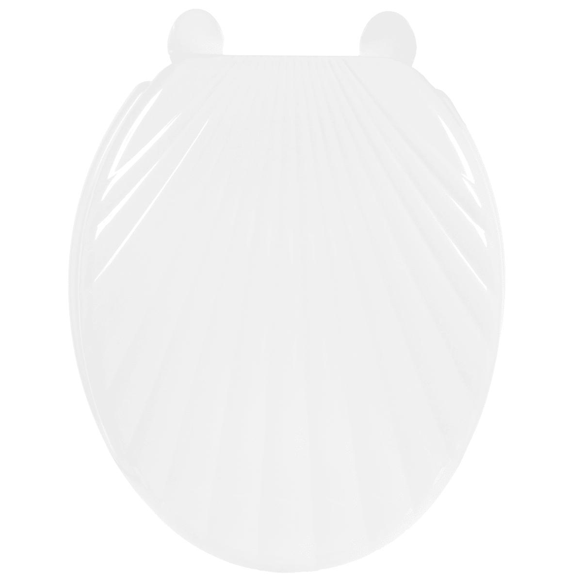 Сиденье для унитаза Орио ракушка, цвет белый
