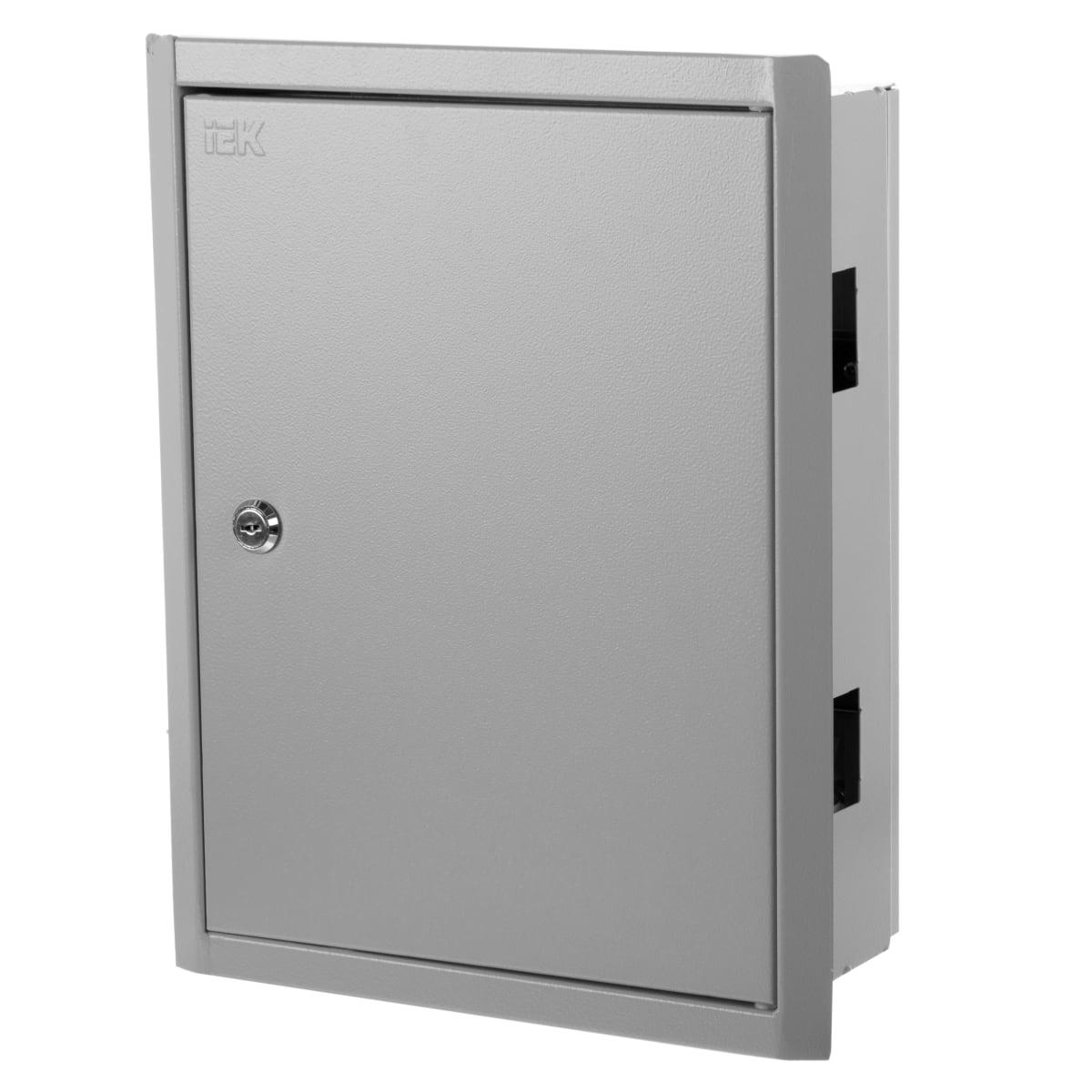 Щит металлический IEK ЩРв-24з на 24 модулей, IP30