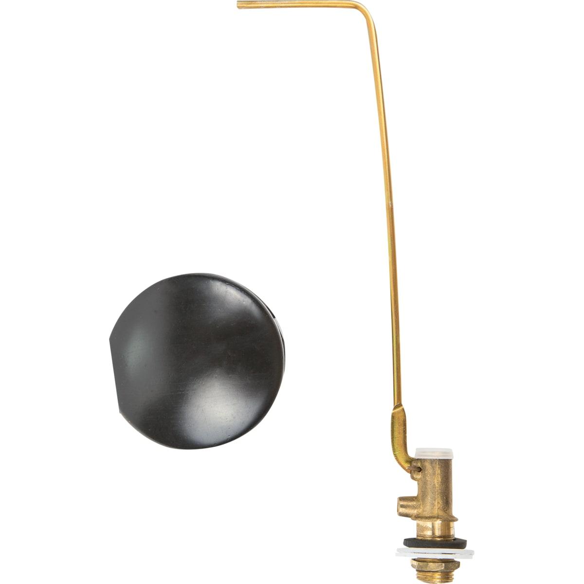 Клапан шаровый с поплавком латунь