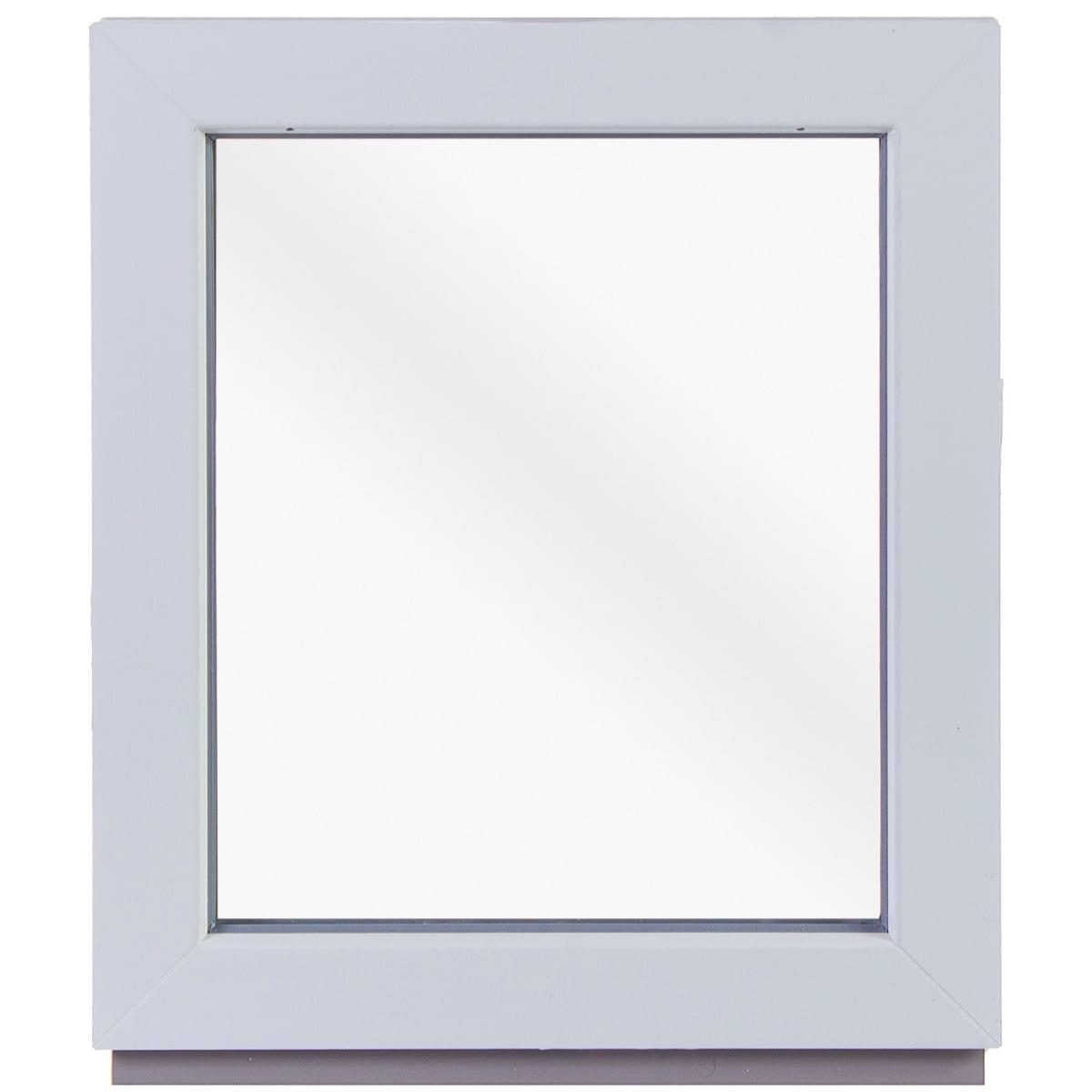 Окно ПВХ одностворчатое 65(62)x60 см глухое