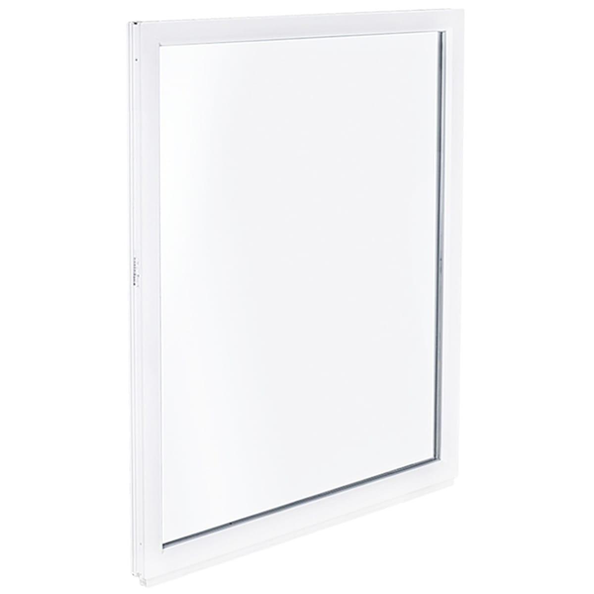 Окно ПВХ одностворчатое 90(87)х60 см глухое
