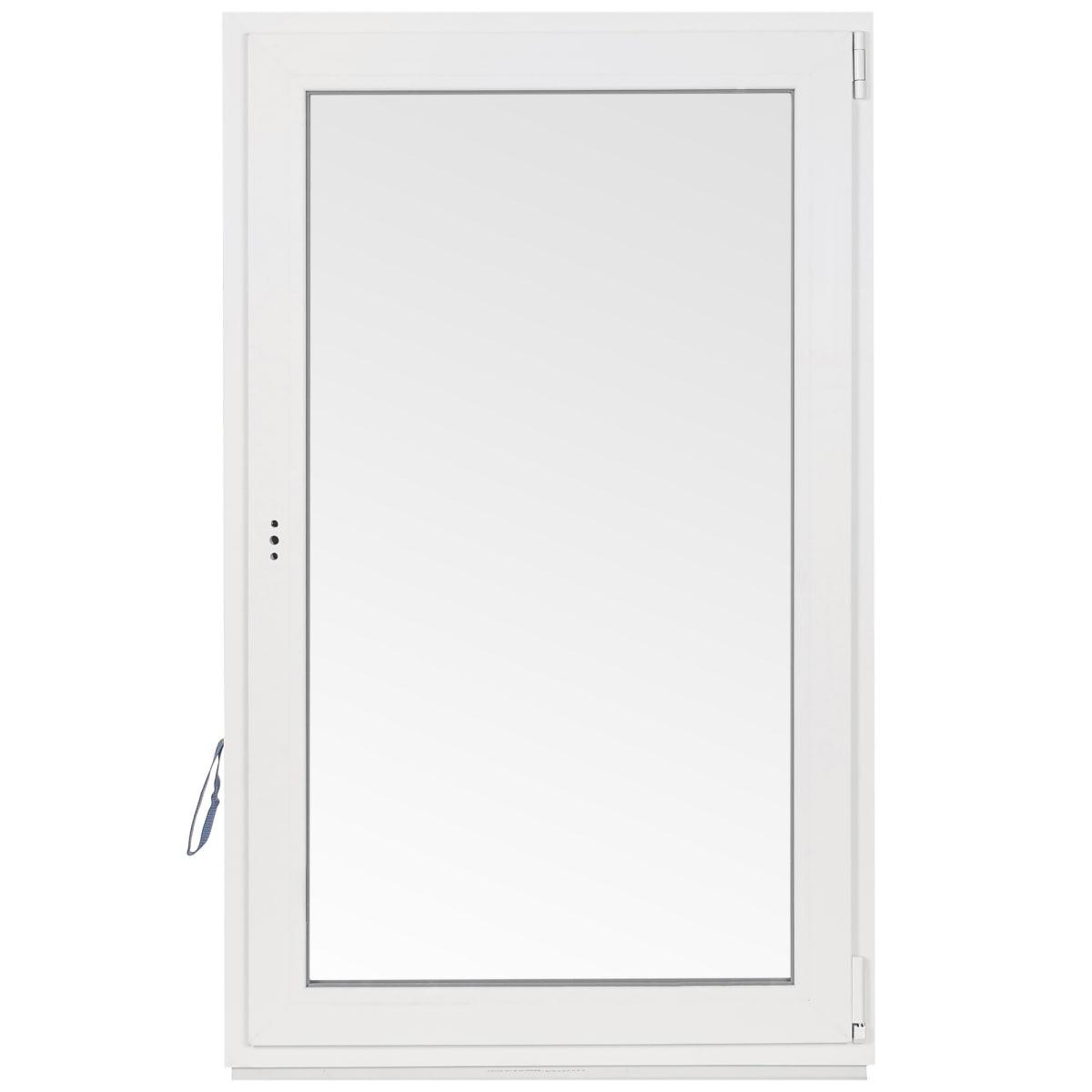 Окно-фрамуга ПВХ 67(64)х87 см