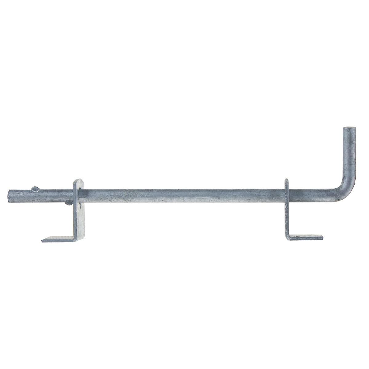 Засов для ворот 16х500 мм, сталь оцинкованная