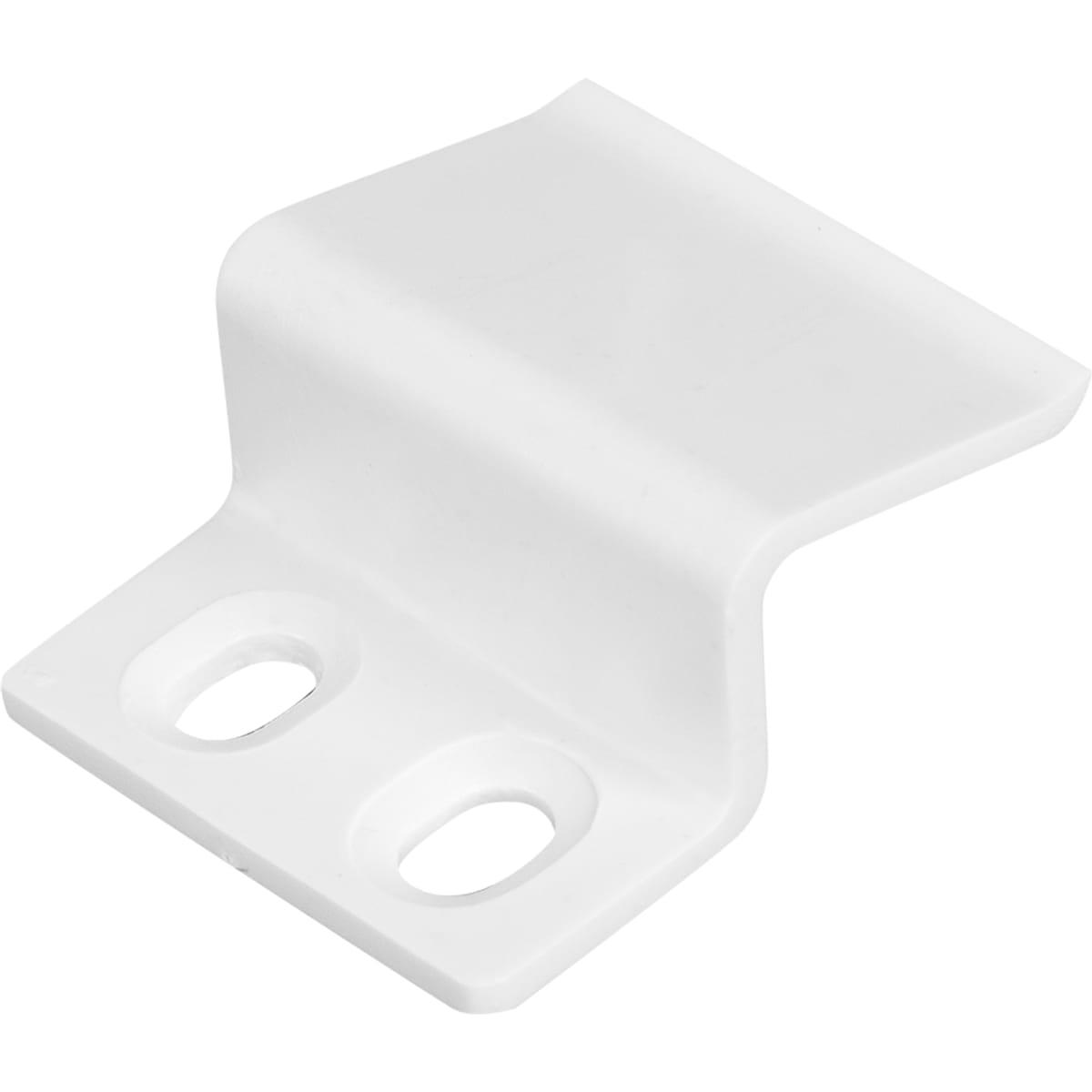 Крепление для москитной сетки пластик цвет белый, 4 шт.