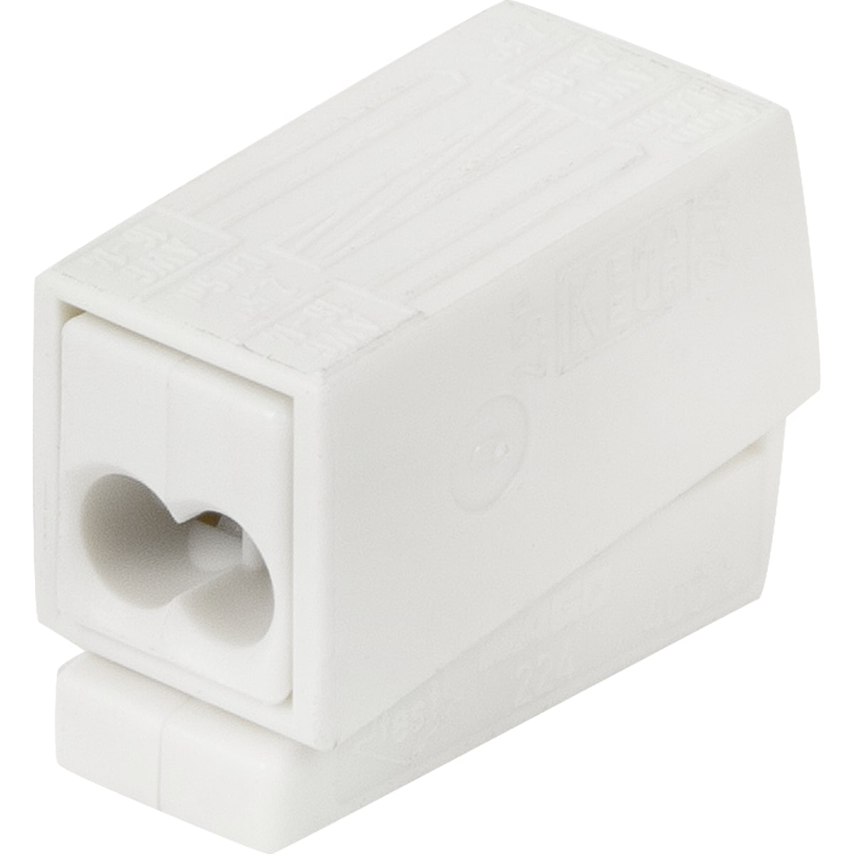 Клемма Wago 9.5х15.5х20.5 мм, поликарбонат, 5 шт.
