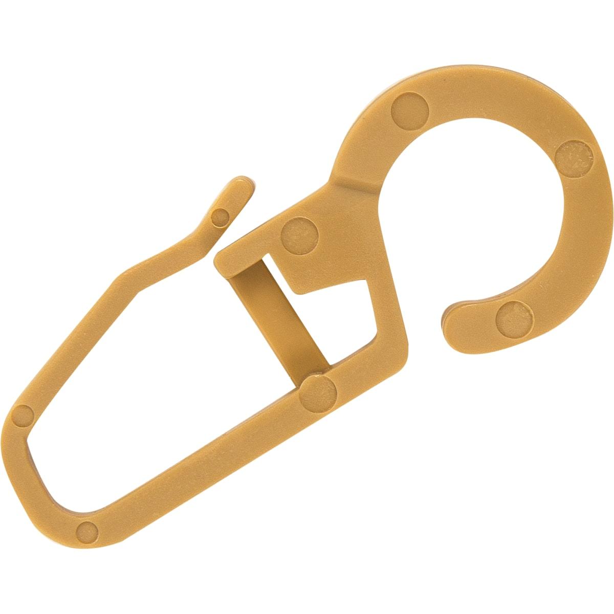 Крючок для колец 2 см цвет бежевый