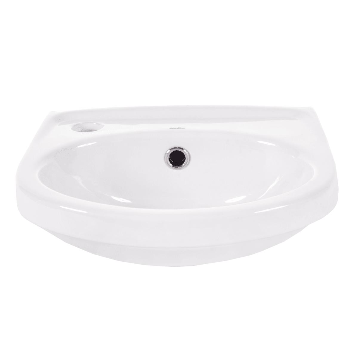 Мини-раковина Sanita Лада, фарфор 31 см, цвет белый
