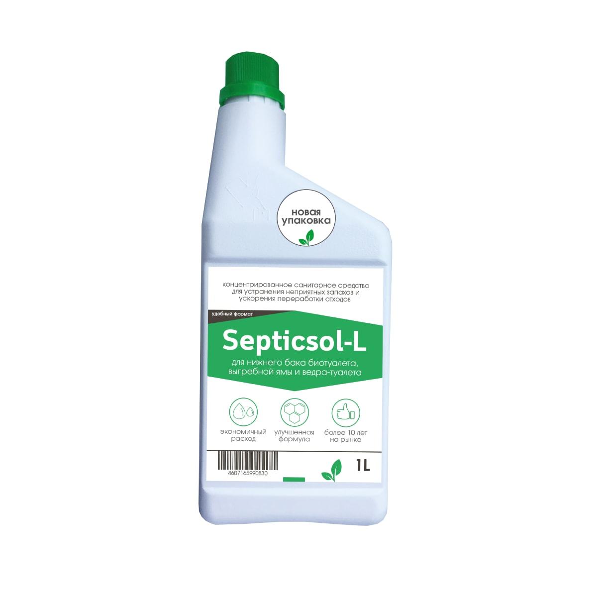 Санитарная жидкость Septiсsol-R для нижнего бака, 1 л