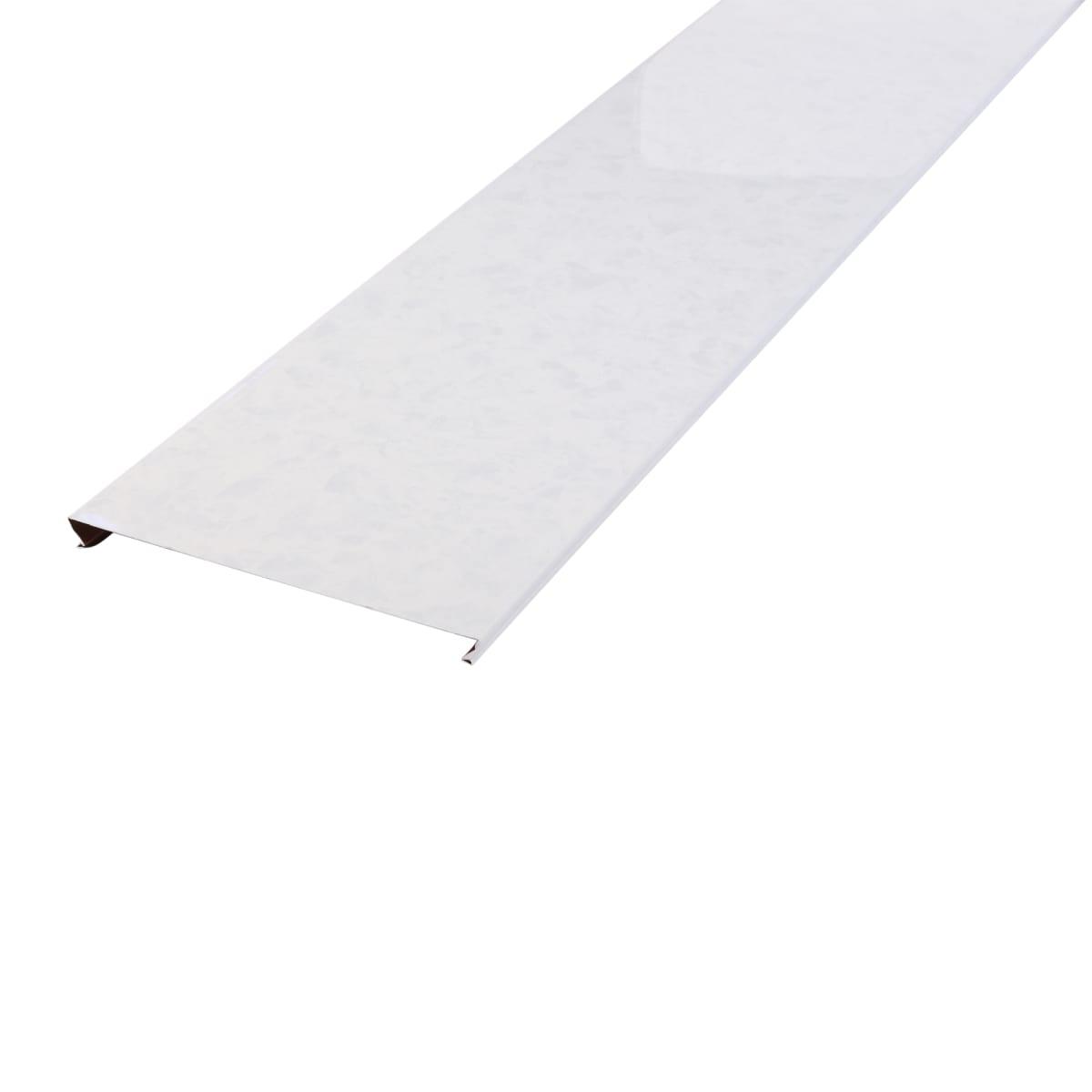 Набор реек 3х1.05 м цвет белый мрамор