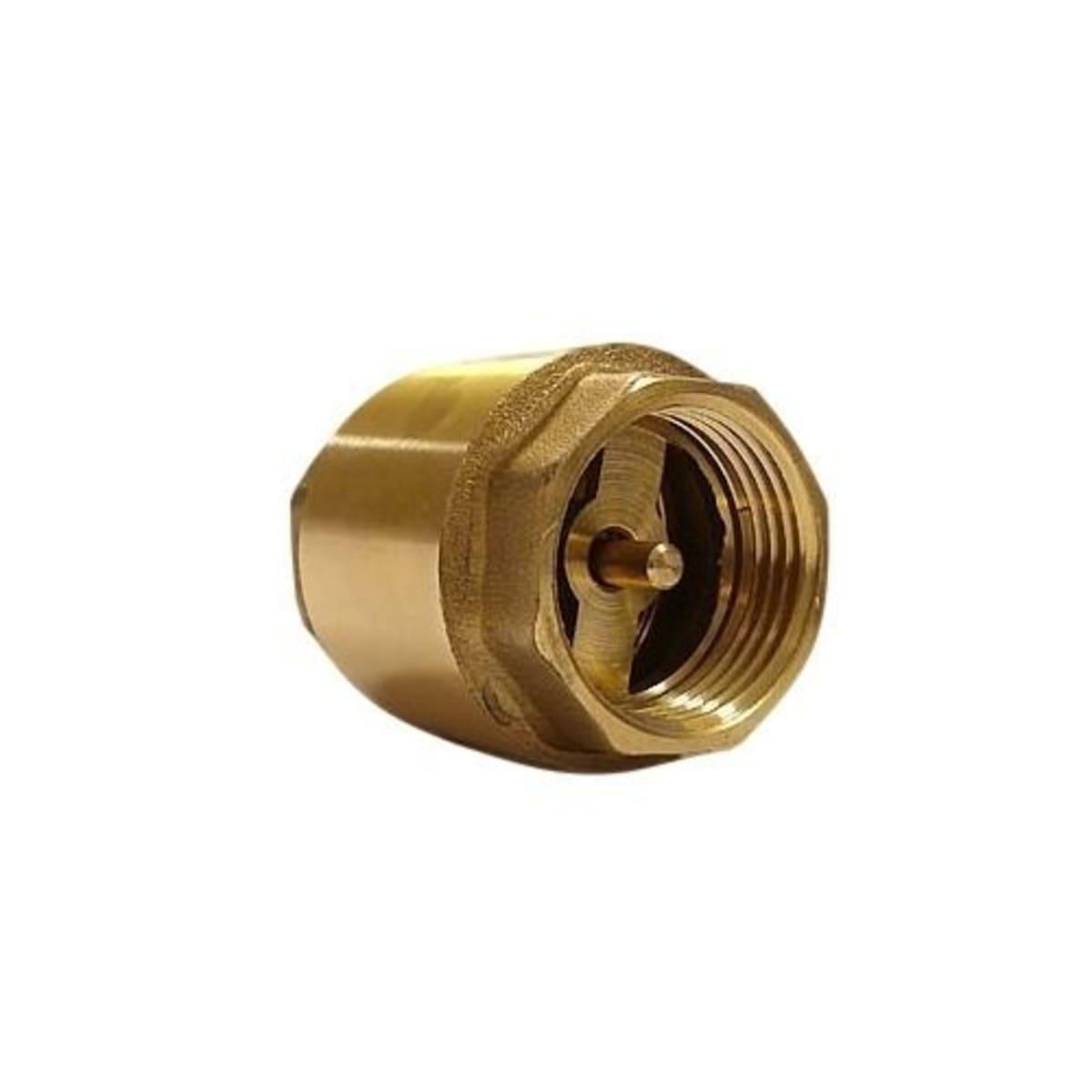 Клапан обратный без сетки Belamos FV-С1.25, проходной, мама-мама