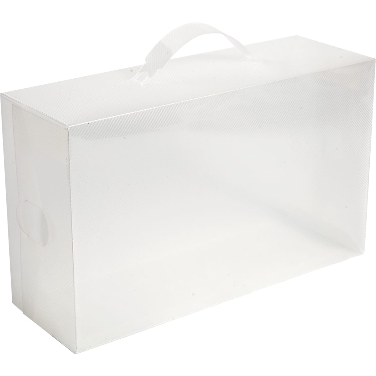 Набор коробов Handy Home 30х10x18 см, пластик цвет прозрачный, 2 шт.