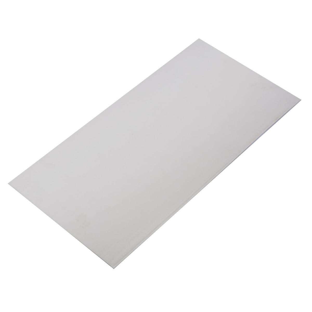 Лист гладкий АМг2М 1.2х300х600, алюминий