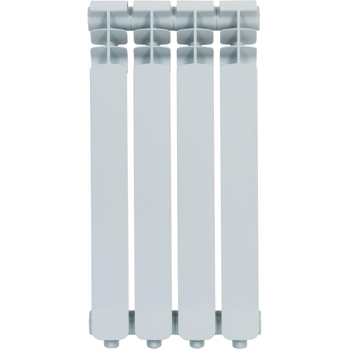Радиатор Monlan 500/70, 4 секции, алюминий