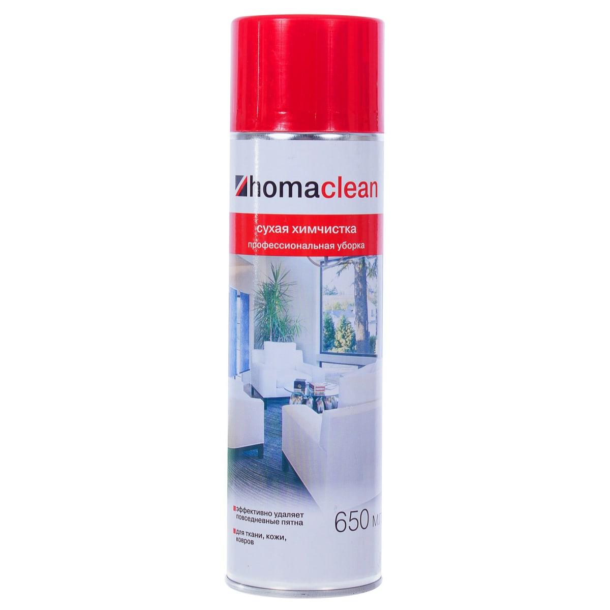 Пена для сухой химчистки Homaclean 0.65 л