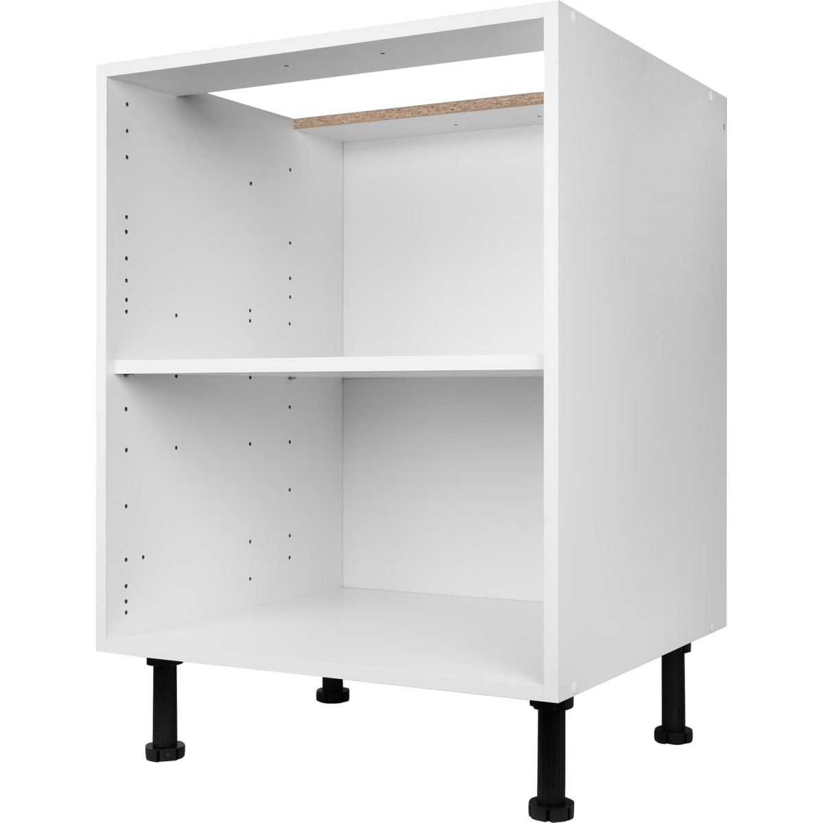 Каркас напольный 60x70x56 см, ЛДСП, цвет белый