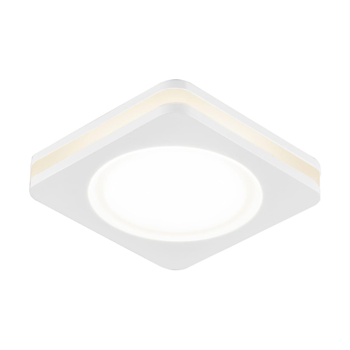 Спот встраиваемый светодиодный «Contorno», 1х5 Вт, 450 Лм, IP20, цвет белый