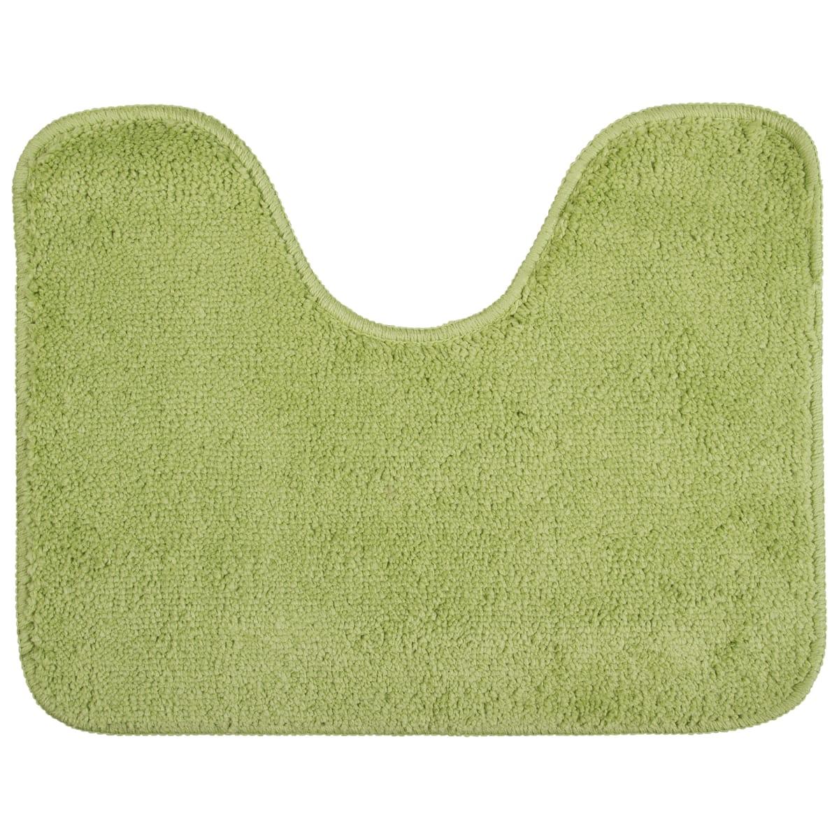 Коврик для туалета Sensea Lounge №3, 50х40 см, микрофибра, цвет зелёный