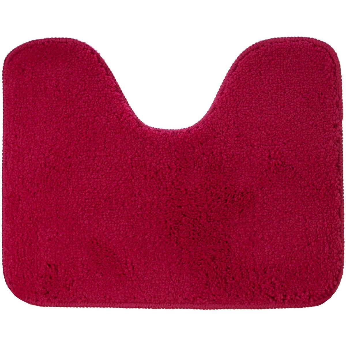 Коврик для туалета Sensea Lounge №3, 50х40 см, микрофибра, цвет розовый