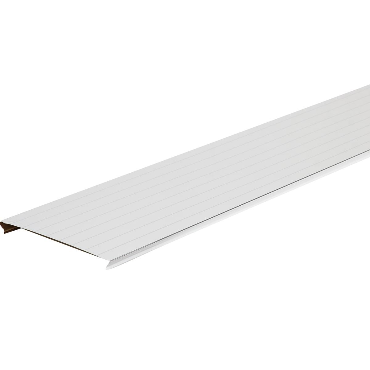 Набор реек Artens 2х1.05 м цвет жемчужно-белый с металлической полосой
