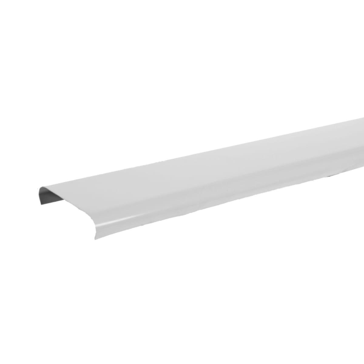 Набор реек 3х1 м цвет белый глянцевый, без раскладки
