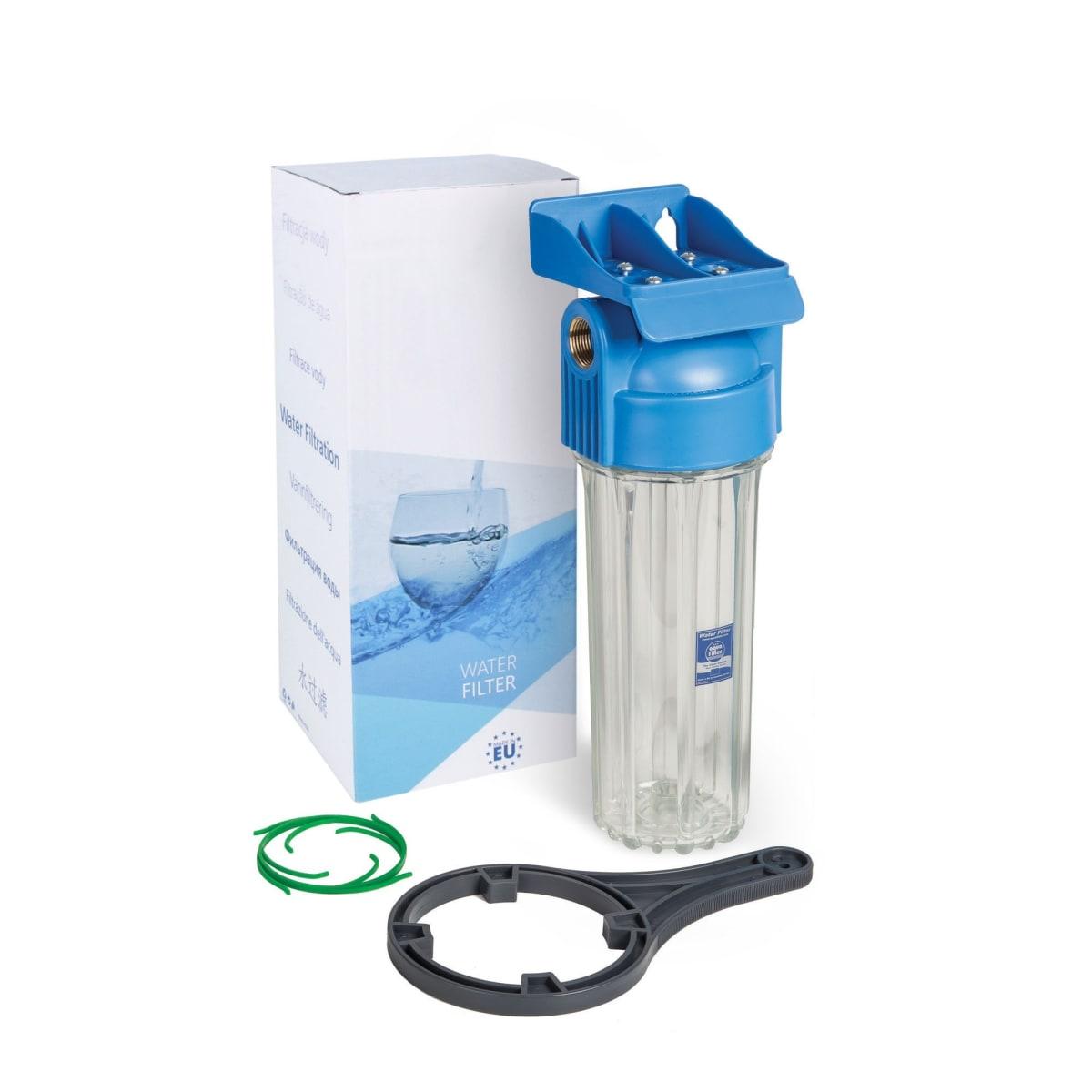 """Магистральный корпус Aquafilter 10SL для холодной воды, резьба 1/2"""", FHPR12-HP-WB"""