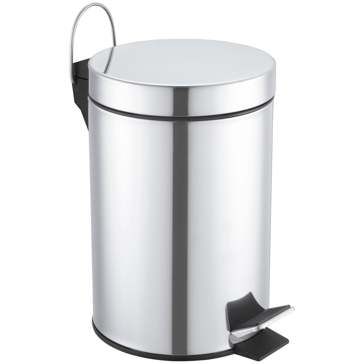 Бак для мусора Sensea 3 л цвет хром