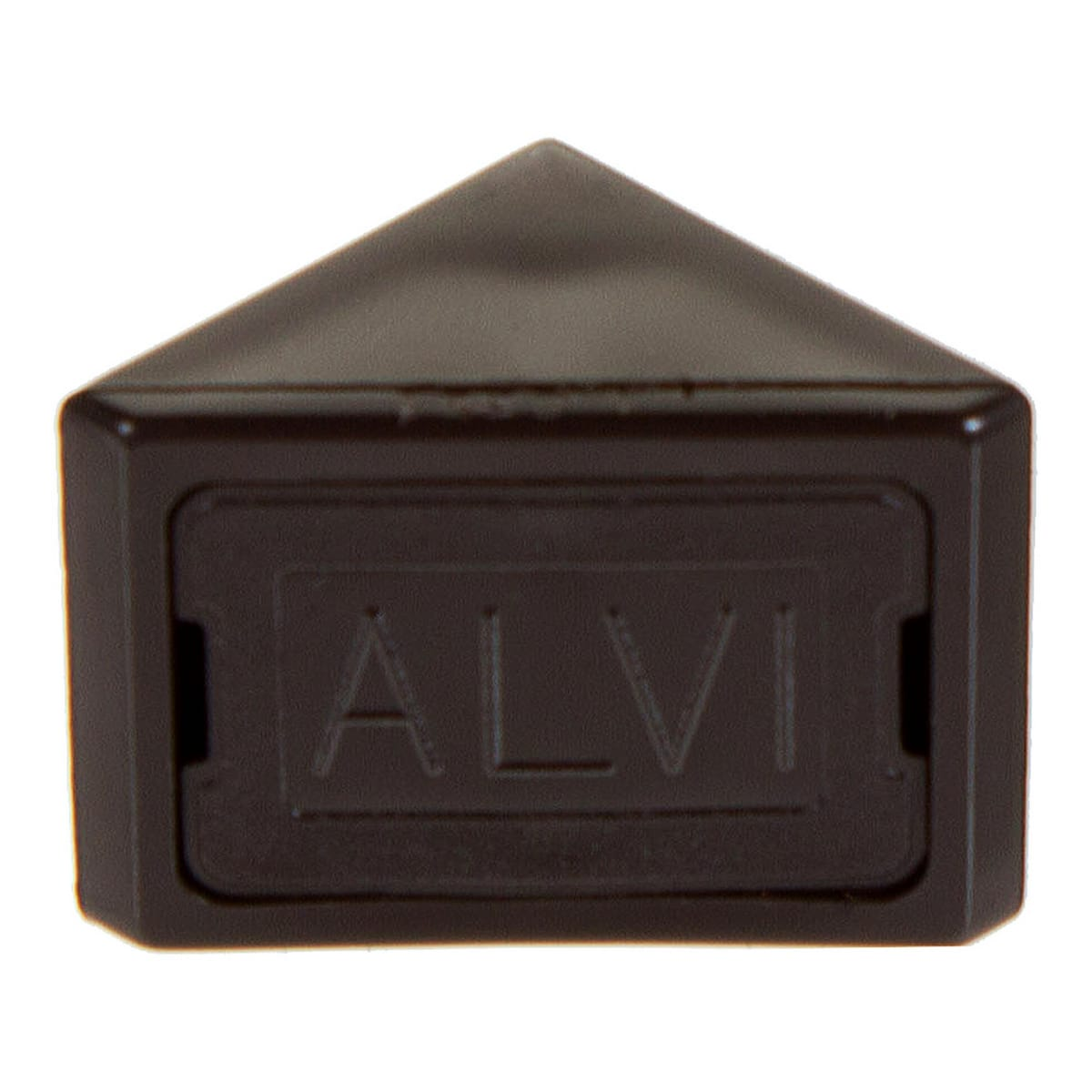 Комплект уголков мебельных с шурупами цвет тёмно-коричневый, 6 шт.