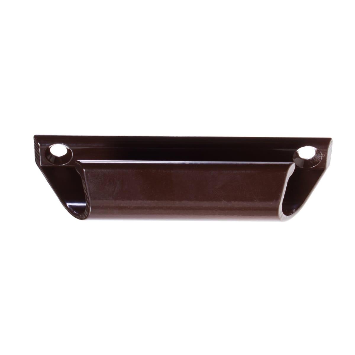 Ручки для балконной двери, цвет коричневый