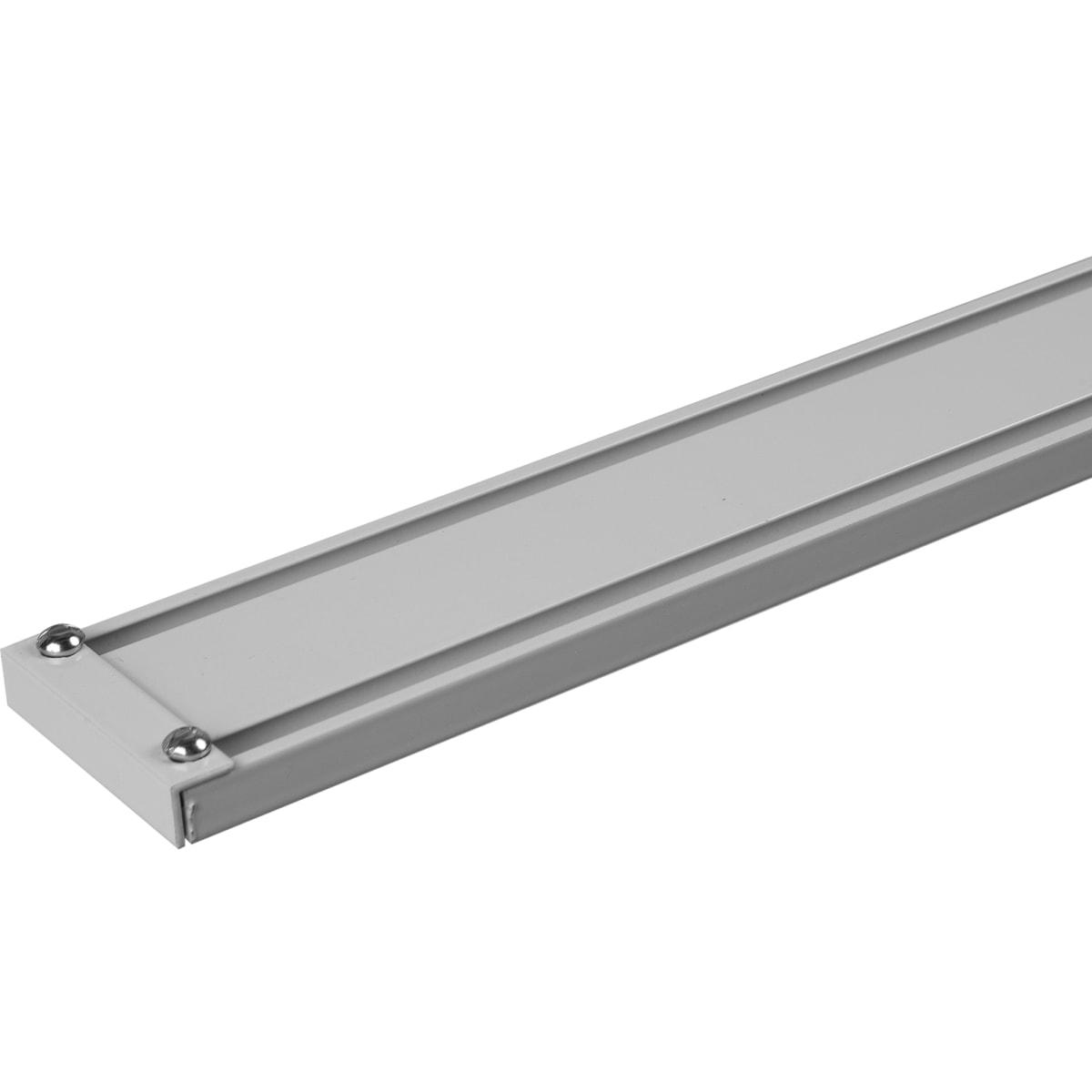 Шина алюминиевая двухрядная «Atlant» 160 см алюминий цвет белый