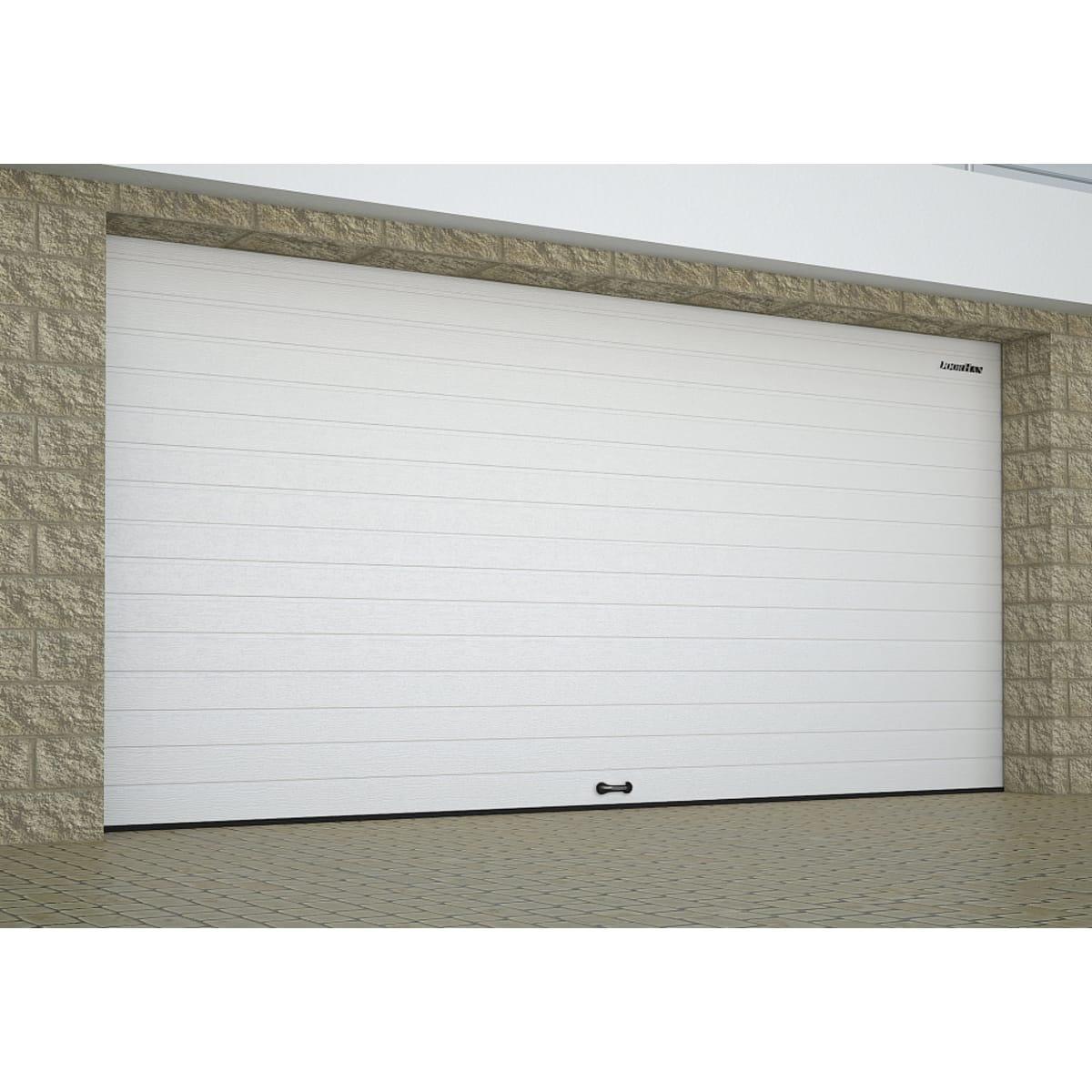 Ворота секционные RSD01SС №14, 3350x2390 мм, цвет белый