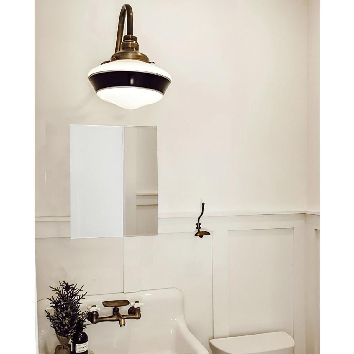 Зеркало без полки 30 см