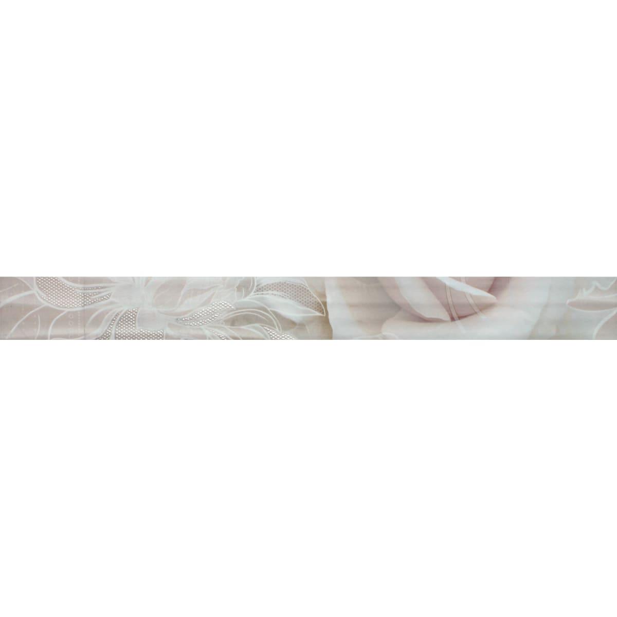 Бордюр «Kamelia» 5x50 см цвет бежевый