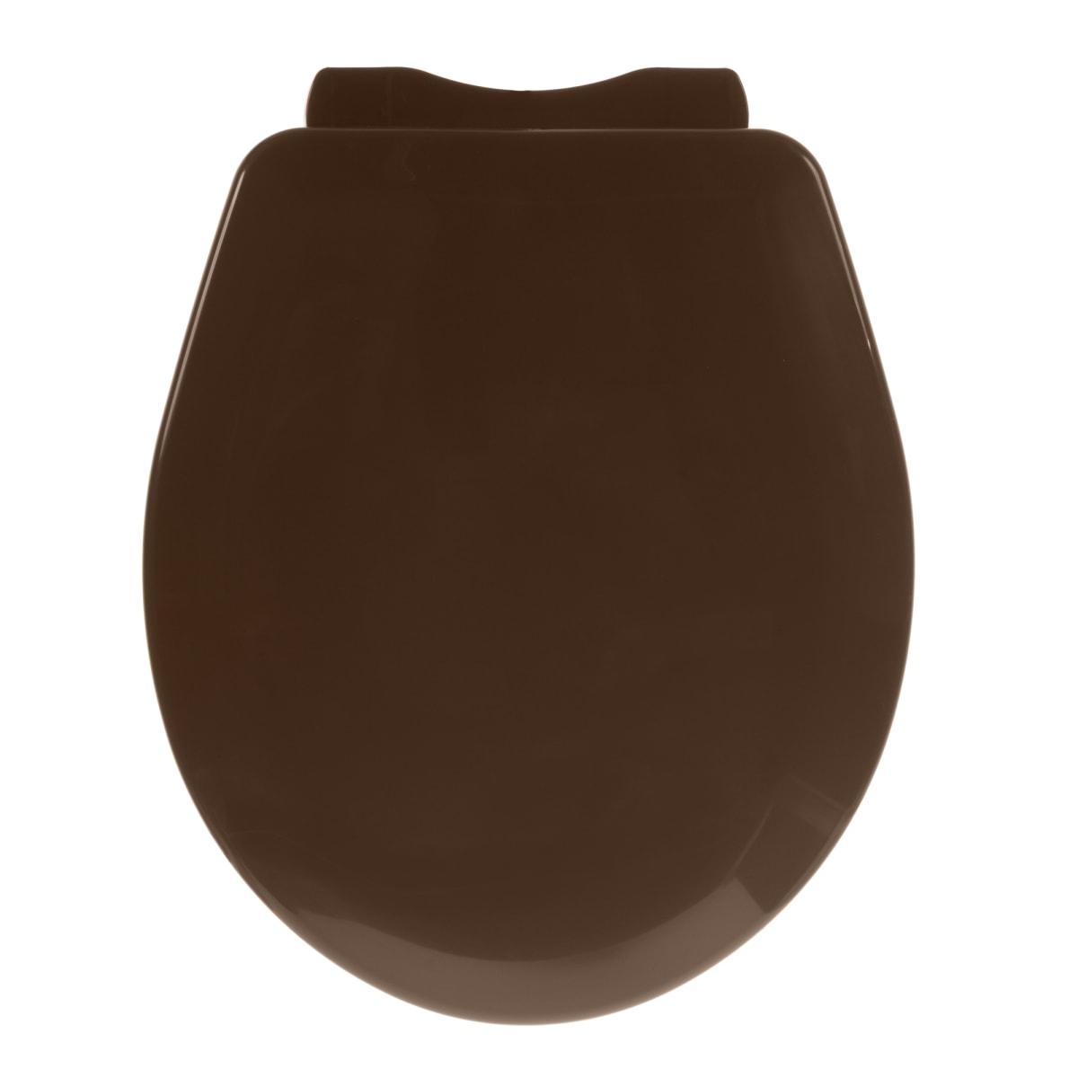 Сиденье для унитаза Орио универсальное, цвет коричневый