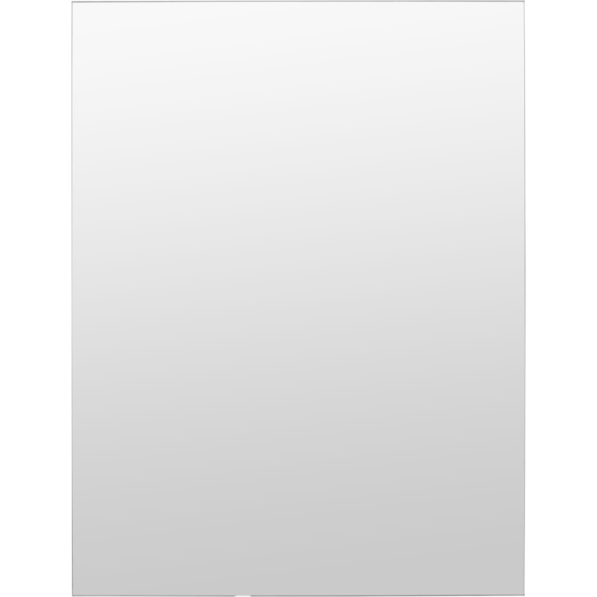 Шкаф зеркальный «Паола» 50 см цвет белый