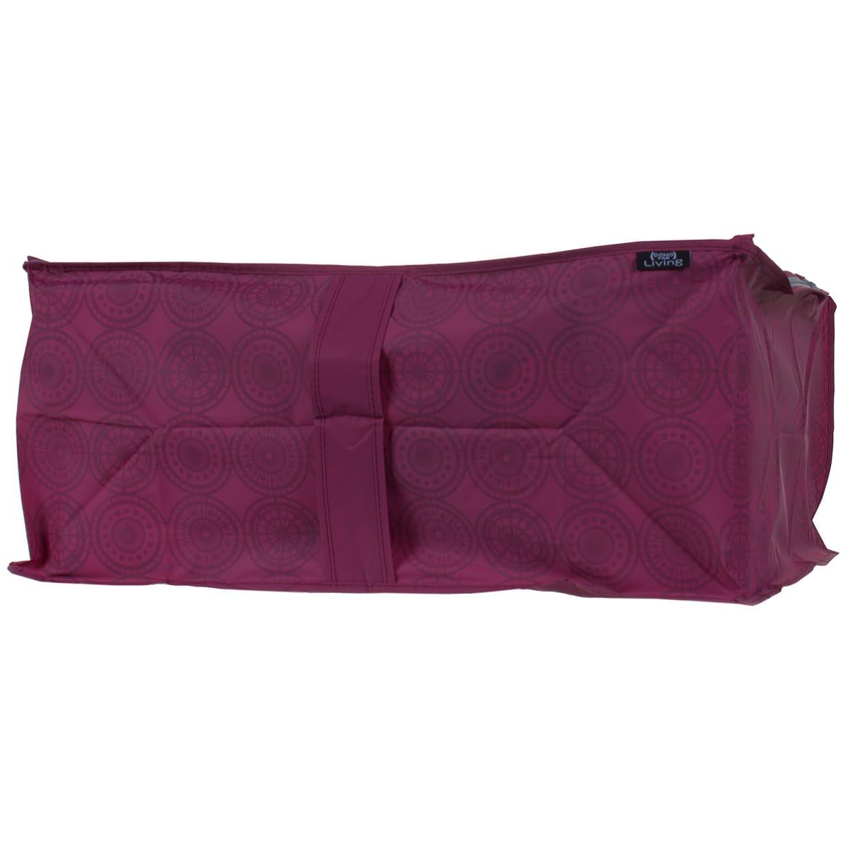 Чехол для одеял 55х45х25 см цвет бордо